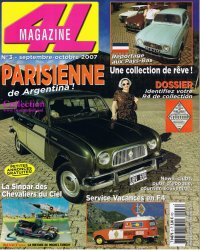 4L Magazine 3, 2007: Entire collection / IKA Parisienne
