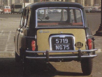 The Remarkable Renault 4 Renault 4 Parisienne 1968