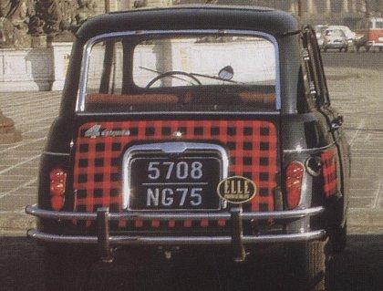 The Remarkable Renault 4 Renault 4 Parisienne 1967